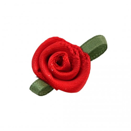 Τριανταφυλλάκι Σατέν με Κορδέλα 15mm