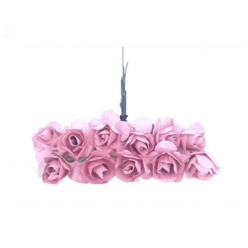 Τριαντάφυλλο Χάρτινο Ροζ Πακ 144τμχ