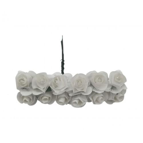 Τριαντάφυλλο Χάρτινο Λευκό Πακ 144τμχ