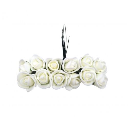 Τριαντάφυλλο Αφρώδες Εκρού Πακ 144τμχ