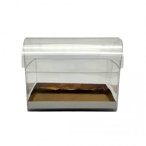 Κουτί Μπαουλάκι Διαφανές 10x7x7.5cm