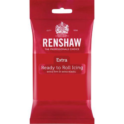 Ζαχαρόπαστα Renshaw Κόκκινη 250gr