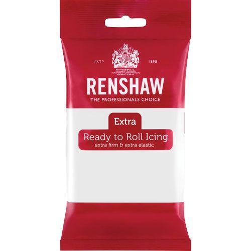 Ζαχαρόπαστα Renshaw Λευκή 250gr