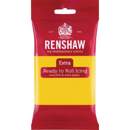 Ζαχαρόπαστα Renshaw Κίτρινη 250gr