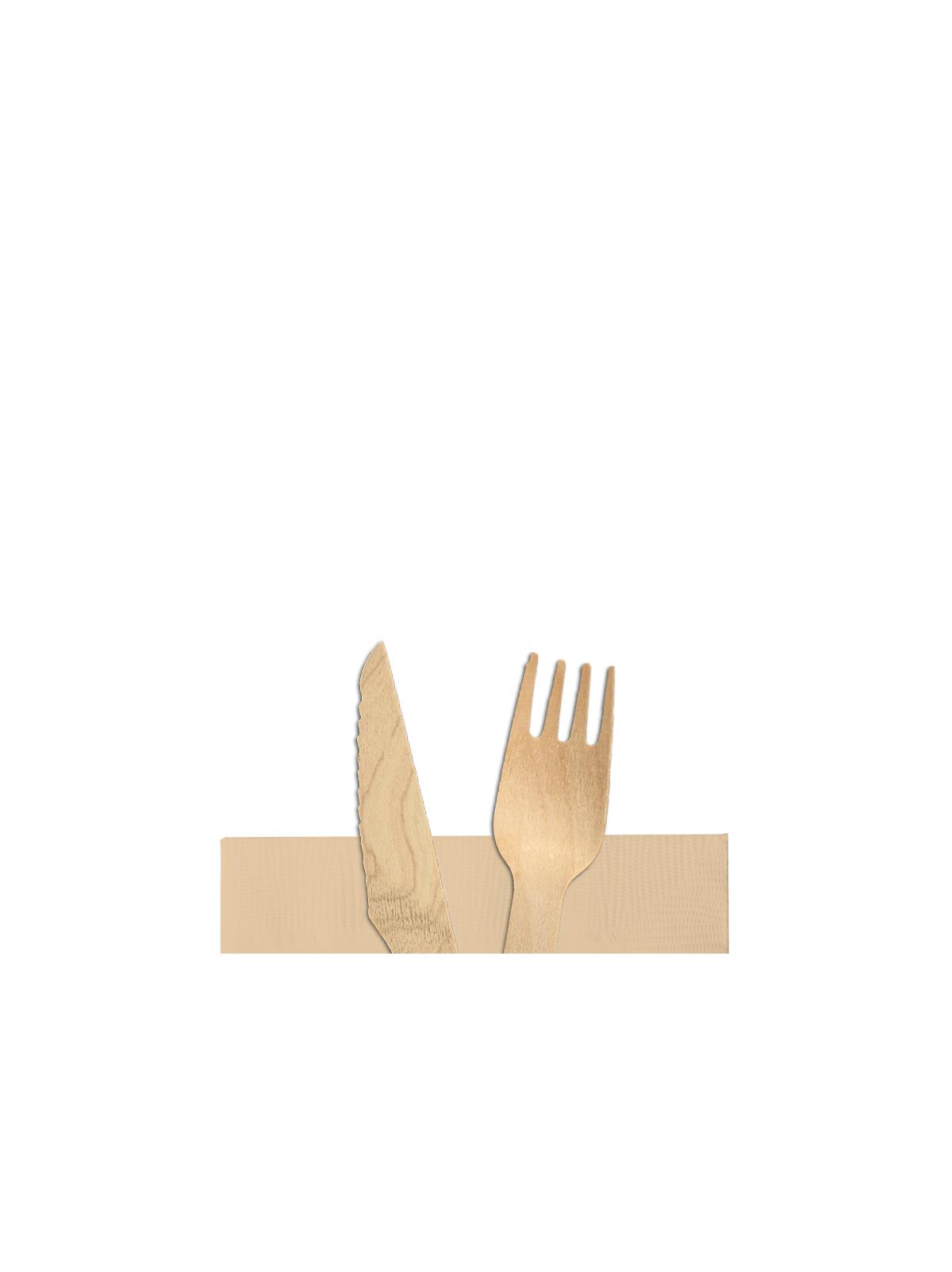 Μαχαιροπίρουνα - Κουβέρ