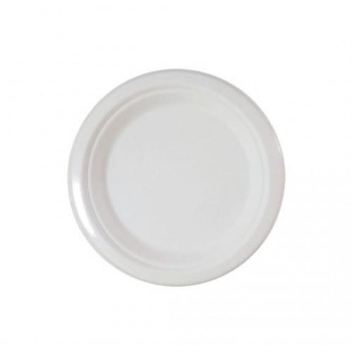 Πιάτα Decorata Compostable 18cm Πακ 10τμχ