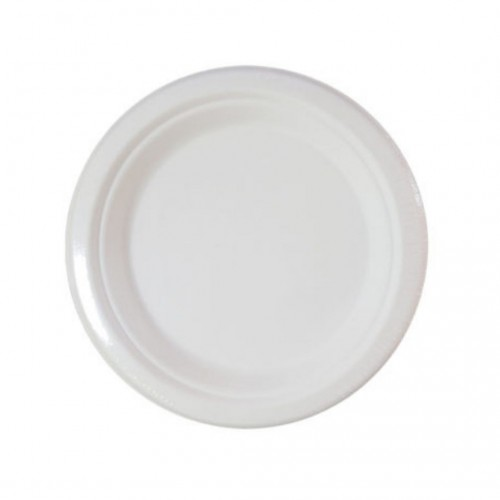 Πιάτα Decorata Compostable 23cm Πακ 10τμχ