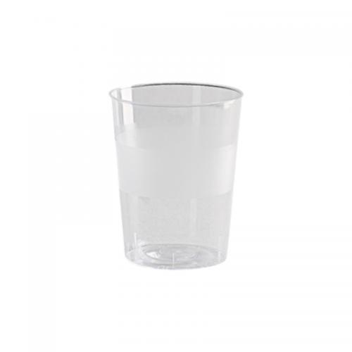 Ποτήρι Πλαστικό Διάφανο 250ml Πακ 10τμχ