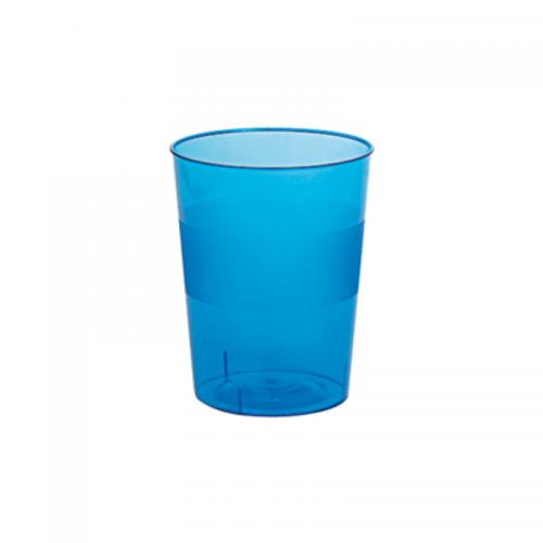 Ποτήρι Πλαστικό Μπλε 250ml Πακ 10τμχ