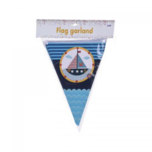 Σημαιάκια με Καράβι