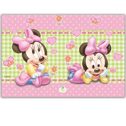 Τραπεζομάντηλο Πλαστικό Baby Minnie 120Χ180cm