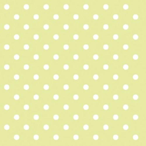 Χαρτοπετσέτα Λαχανί με Λευκό Πουά 33Χ33cm Πακ 20τμχ