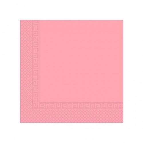 Χαρτοπετσέτα Decorata Ροζ 33x33cm Πακ 20τμχ