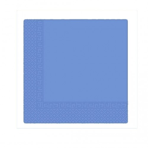 Χαρτοπετσέτα Decorata Μπλε 33x33cm Πακ 20τμχ