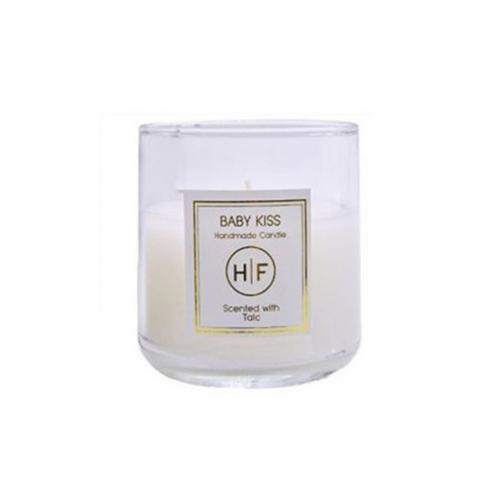 Κερί Αρωματικό Λευκό σε Ποτήρι 140gr