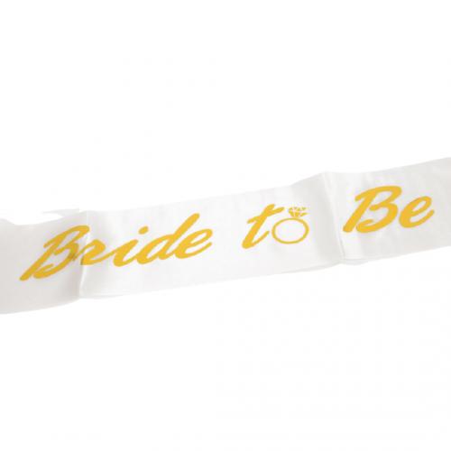 Κορδέλα Σατέν Bride to Be 9.5x1.60m