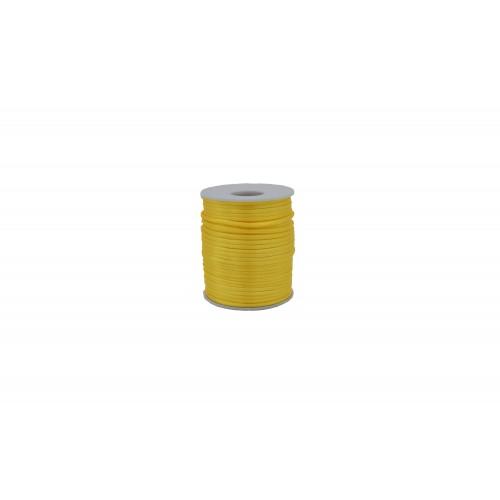 Κορδόνι Σατέν Κίτρινο 2mmX50m