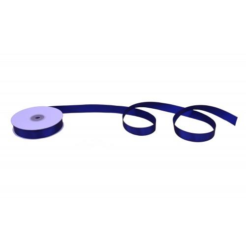 Κορδέλα Σατέν Μονής Όψης Μπλε Σκούρο 19mmX50Y
