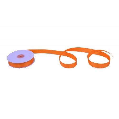 Κορδέλα Σατέν Μονής Όψης Πορτοκαλί 19mmX50Y