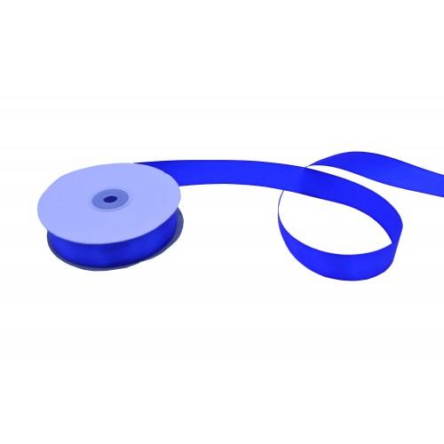 Κορδέλα Σατέν Μονής Όψης Μπλε Ρουά 25mmX50Y