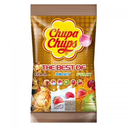 Γλειφιτζούρια Chupa Chups Σακούλα 120τμχ