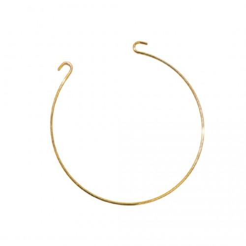 Βραχιολάκι Μαρτυρικό Μεταλλικό Χρυσό 6.5cm
