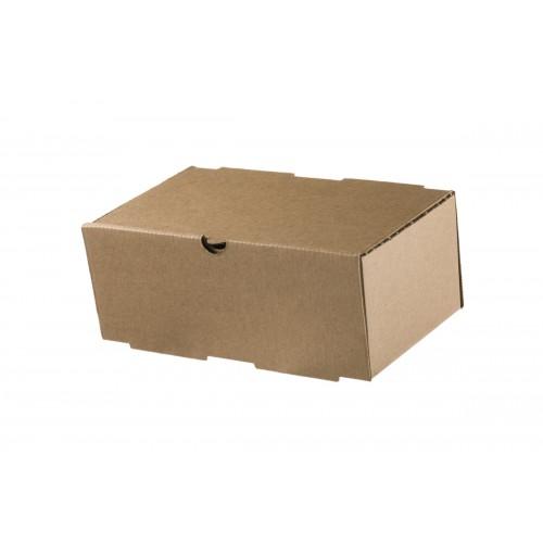 Κουτί Φαγητού Kraft 22x12x9cm