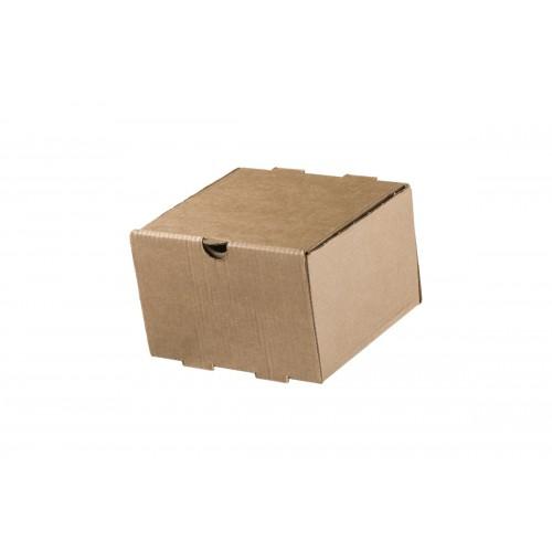 Κουτί Φαγητού Kraft 13x13x8.6cm