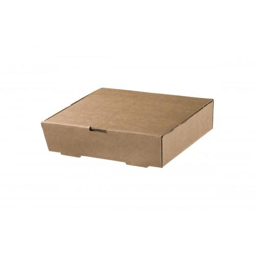 Κουτί Φαγητού Kraft 21.6x17x5.4cm