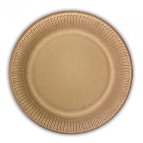 Πιάτα Kraft Decorata 19.5cm Πακ 10τμχ