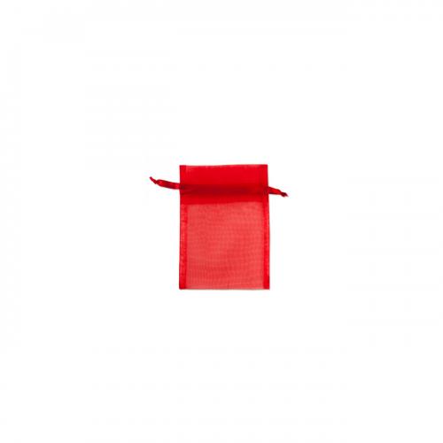 Πουγκί Οργάντζα Κόκκινο 7.5Χ10cm