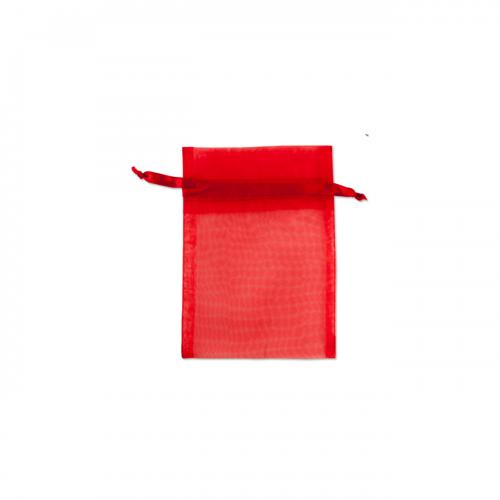 Πουγκί Οργάντζα Κόκκινο 10X12.5cm