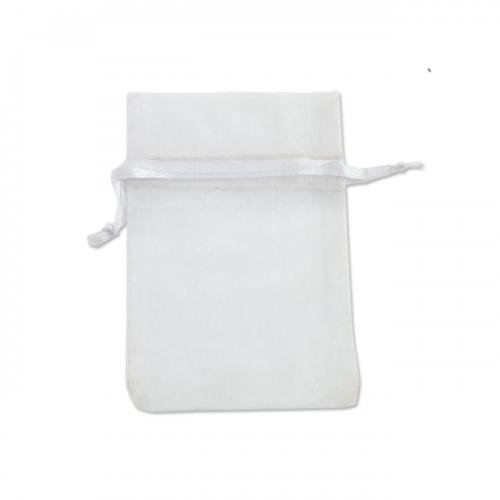 Πουγκί Οργάντζα Λευκό 10X12.5cm
