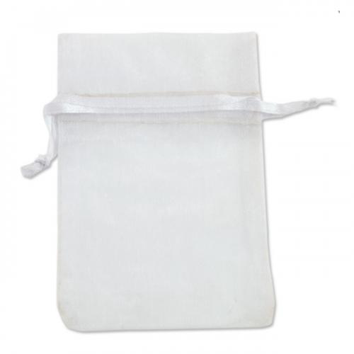 Πουγκί Οργάντζα Λευκό 12.5X15.5cm