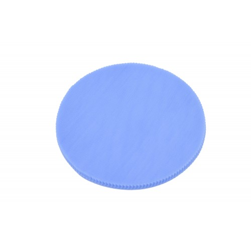 Τούλι Στρογγυλό Γαλάζιο 25cm Πακ 100τεμ