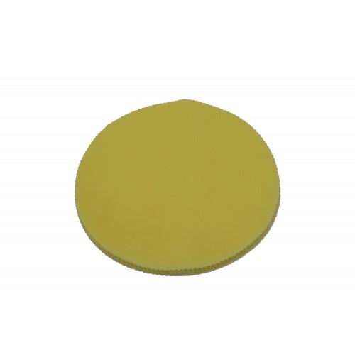 Τούλι Στρογγυλό Κίτρινο 25cm Πακ 100τεμ