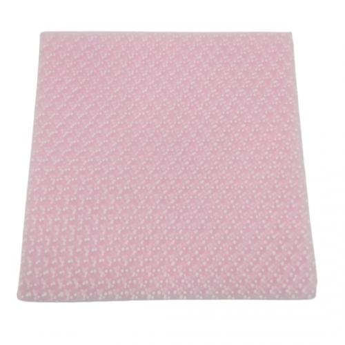 Τούλι Ροζ Πουά Πακ 100τμχ 29x29cm