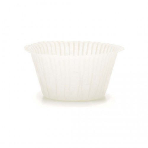 Muffin Cups No1 Λευκά Πακ 100τμχ