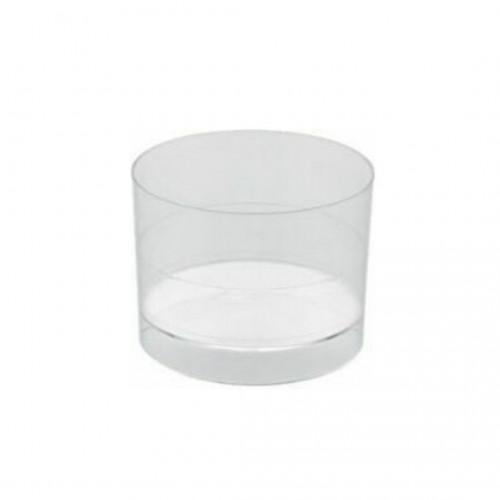 Πλαστικό Σκεύος Στρογγυλό 200ml Πακ 50τμχ