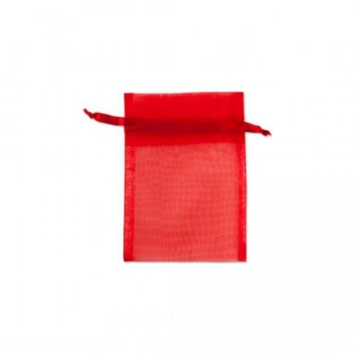 Πουγκί Οργάντζα Κόκκινο 5Χ7.5cm