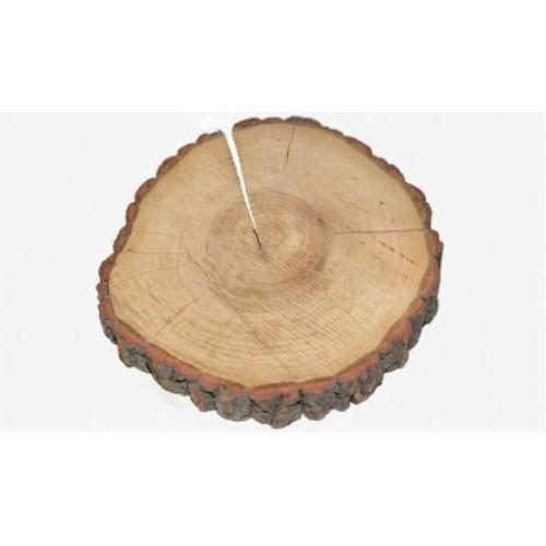 Κορμός Δέντρου Παχύς Φυσικό Άβαφο 16-20x30cm