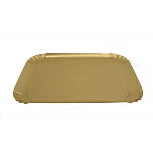 Πιατέλα Χρυσή 34Χ47cm