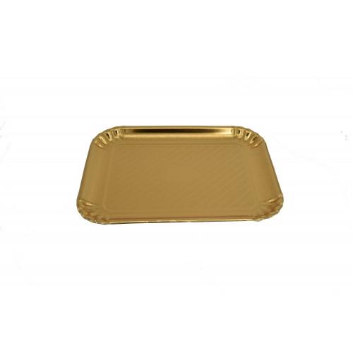 Πιατέλα Χρυσή 30Χ39cm