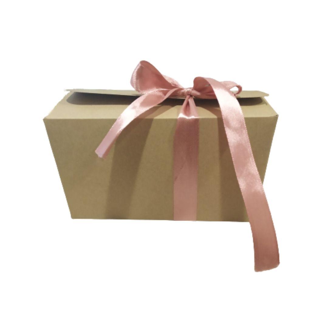 Κουτί Χάρτινο Πραλίνας Kraft 15x8x9cm