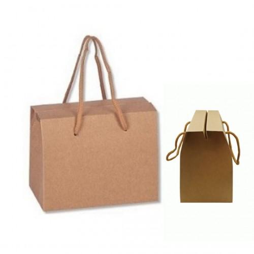 Κουτί Kraft με Κορδόνι 15x9x11.5cm