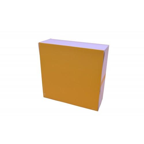 """Κουτί Ζαχαροπλαστείου """"Easy Open"""" No10 22Χ22Χ8cm"""