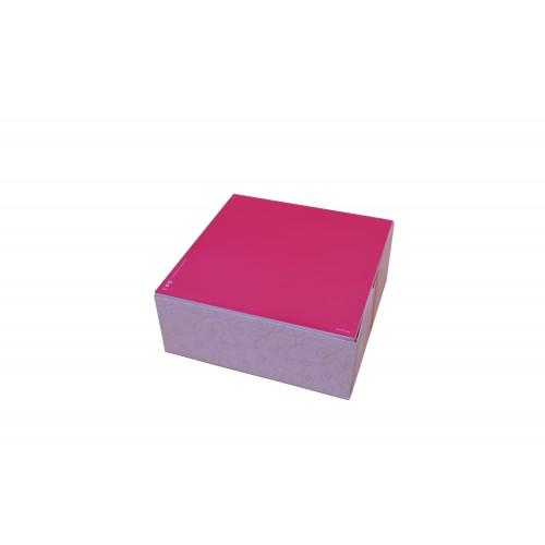 """Κουτί Ζαχαροπλαστείου """"Easy Open"""" No8 20x20x8cm"""