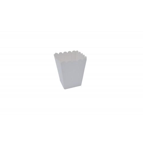 Κουτί για Marshmallows Λέυκό  9Χ9Χ11cm