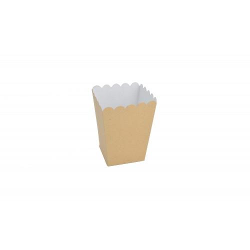 Κουτί για Marshmallows Κραφτ 9Χ9Χ11cm