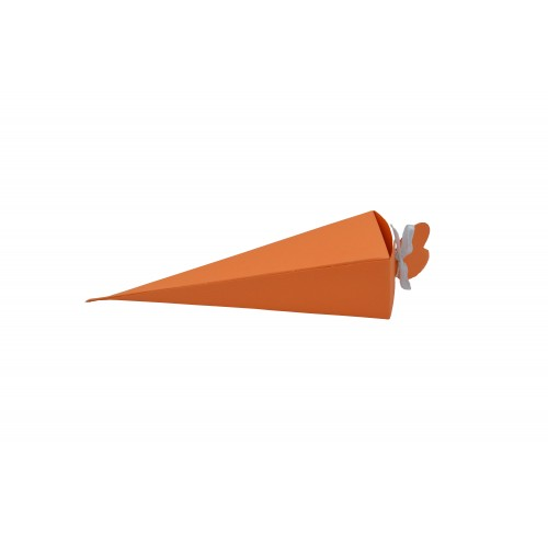 Κουτί Πυραμίδα Πορτοκαλί 15.5Χ4Χ4cm